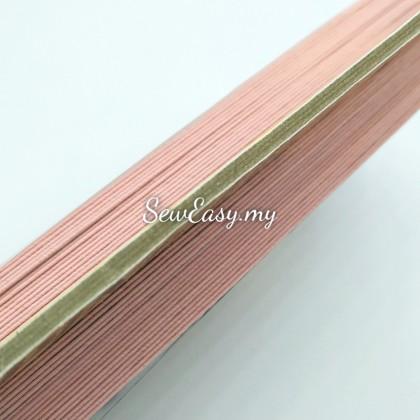 <3meter/lot> Parsons Pink Edge Knicker Elastic Tape / Getah Kain 165717