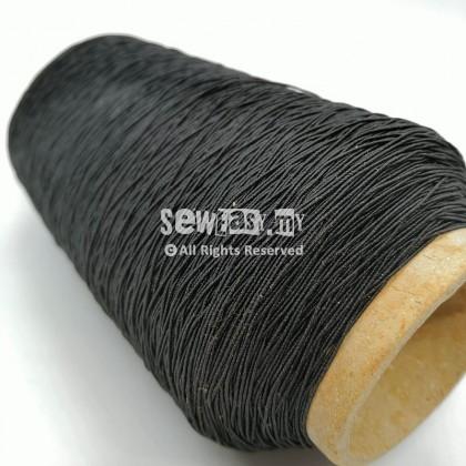 Benang Getah / Benang Elastik / Elastic Thread (Black & White)